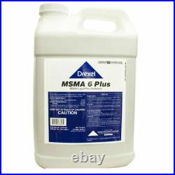 MSMA 6 Plus Herbicide (2.5 Gals) For Cotton Sod Farms Golf Courses Rights-of-Way