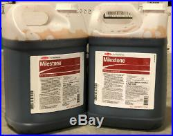 Milestone Herbicide 5 Gallons (2x2.5 gal) (aminopyralid 40.6%) by Dow Agro