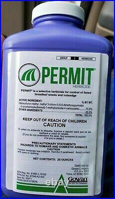 New Permit Herbicide 75WG 20 oz. Jug