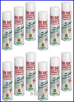 Oleanderhof Sparset 12 x COMPO Bi 58 Spray N, 400 ml + gratis Oleanderhof Flye