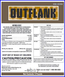 Outflank Herbicide (Flumioxazin) (5 lbs.)