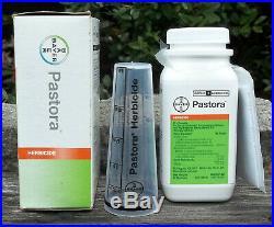 Pastora Herbicide for Bermudagrass, Hay & Pastures covers 5 acres / 217,800 SF