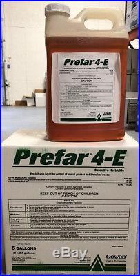 Prefar 4E Herbicide 5 Gallons (2x2.5 gal) by Gowan