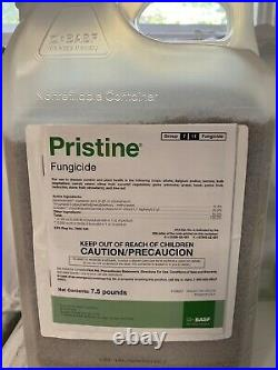 Pristine Fungicide 7.5 Pounds (Pyraclostrobin 12.8%, Boscalid 25.2%) by BASF