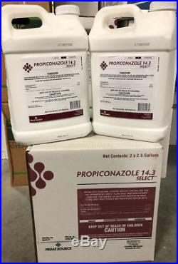 Propiconazole Select T&O Fungicide 5 Gallons (2x2.5 gal) (Generic Banner Maxx)