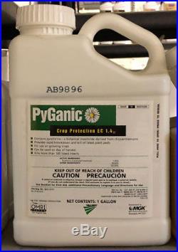 PyGanic EC 1.4 II Insecticide 1 Gallon OMRI Listed Organic