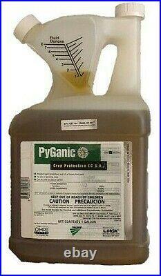 PyGanic EC 5.0 II Insecticide 1 Gallon OMRI Listed Organic