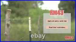RM43 43-Percent Glyphosate Plus Weed Preventer Total Vegetation Control