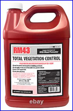 RM43 76500 RM43 Total Vegetation Control Plus Weed Preventer, Concentrate