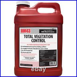 RM43 Total Vegetation Control Weed Killer Preventer Concentrate 2.5 Gal