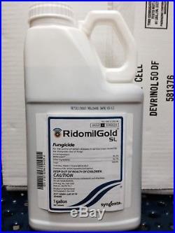 Ridomil Gold SL Fungicide 1 Gallon by Syngenta