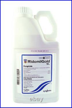 Ridomil Gold SL Fungicide-Mefenoxam 45.3% By Syngenta (Gallon)