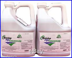 RoundUp Pro Concentrate Herbicide 50.2% Glyphosate 5 Gallons