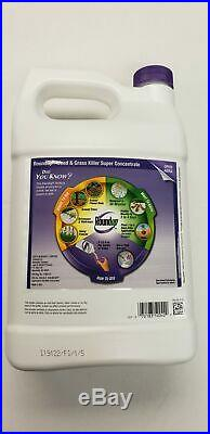 RoundUp Weed Killer- 1 Gallon Super Concentrate- NEW