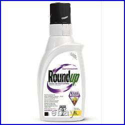 Roundup 1L Grass Weed Dandelion Killer Control Super Concentrate Herbicide