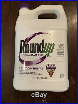 Roundup 1 Gal. Super Concentrate Weed & Grass Killer 5004215 1 Each