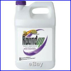 Roundup 1 Gallon 50% Super Concentrate Weed & Grass Killer- Free Shipping
