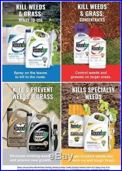 Roundup 2.5 gal. Concentrate PRO Herbicide Post-Emergent Non-Elective Industrial