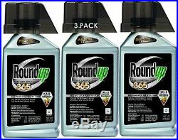 Roundup 365 Vegetation Killer Concentrate, 32-Ounce 3 PACK FREE SHIPPING