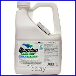 Roundup Custom Aquatic Terrestial Herbicide 2.5 Gallons Glyphosate 53.8%