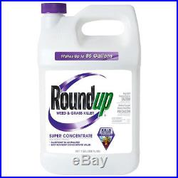 Roundup Fast Garden Weed and Grass Killer Super Concentrate, 1 Gallon (2 Pack)