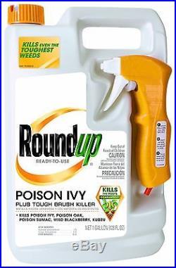 Roundup Poison Ivy Plus Tough Brush Killer Ready-to-Use Trigger Spray 1-Gallon