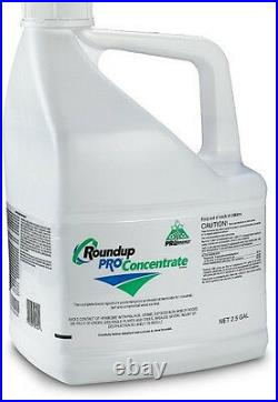 Roundup Pro Herbicide 2.5 gallons (2 1/2 gallons) 50% glyphosate Weed Killer