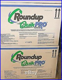 Roundup Quickpro Herbicide 6.8 Lb Jug Pack Of 8! Free Shipping