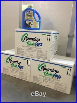 Roundup QuikPro Herbicide Weed Killer 12 6.8 Pound jugs (81.6 lbs) (3 cases)