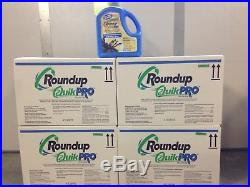 Roundup QuikPro Herbicide Weed Killer 16 6.8 Pound jugs (108.8 lbs) (4 cases)