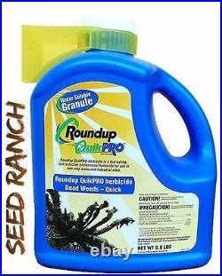 Roundup QuikPro Weed Killer Herbicide (QuickPro) 6.8 Lbs