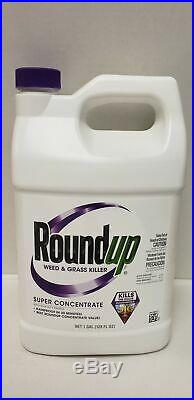 Roundup Super Concentrate 1 Gallon Weed & Grass Killer- Free Shipping