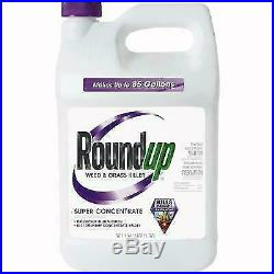 Roundup Super Concentrate Weed Killer -1 Gallon Round Up New Sealed