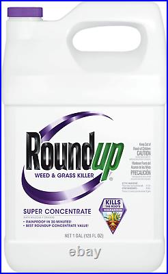 Roundup Weed And Grass Killer Super Concentrate, 1-Gallon