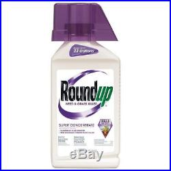Roundup Weed & Grass Killer Super Concentrate, 3x bottles bundle 35.2-Ounces