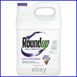 Roundup Weed and Grass Killer Concentrate 1 gal. Case Pack of 4