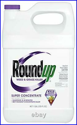 Roundup Weed and Grass Killer Super Concentrate 1-Gallon