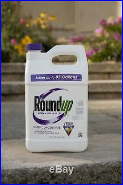 Roundup Weed and Grass Killer Super Concentrate, 1-Gallon 1 GAL