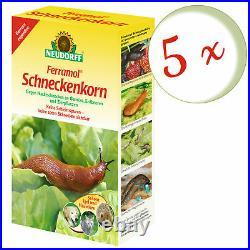 Savings Set 5 X Neudorff Ferramol Snail Bait, 2 KG