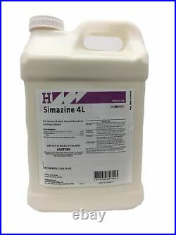 Simazine 4L preemergence herbicide 2.5 Gallon for grasses and broadleaf weeds