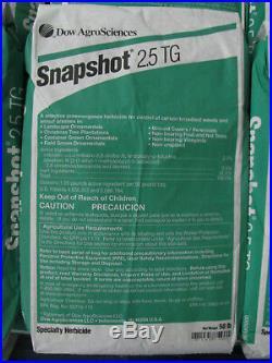 Snapshot 2.5 TG Herbicide 50 Pound bag Mulch Bed Weed Inhibitor