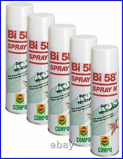 Sparset 5 x COMPO Bi 58 Spray N, 400 ml