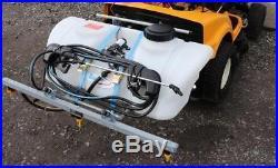 Sprayer Pump Attachment For Ride On Lawn Garden Landscape Mowers Tractors 60l