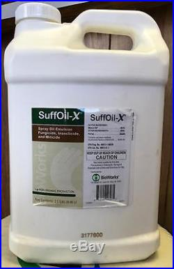 SuffOil-X, Spray Oil Emulsion Fungicide, OMRI Certified (2.5 Gallons)