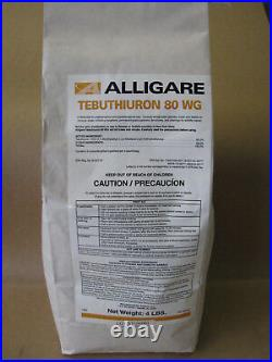 Tebuthiuron 80WG Herbicide (4 Pounds) Brush Killer Replaces Spike 80WG