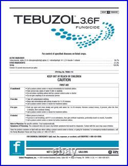 Tebuzol 3.6 F (Fungicide) (2.5 gal)