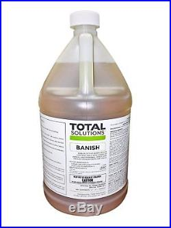Total Solutions Banish Weed Killer 4 Gallon case (Makes 40 gallons)