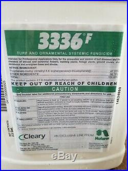 Turf Ornamental Fungicide Clearys 3336 F Fungicide 2.5 Gals Thiophanate-Methyl