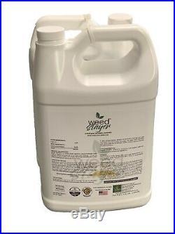 Weed Slayer WSDA Certified Organic Weed Killer 1 Gallon Glyphosate free