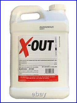 X-Out Weedkiller 2.5 Gallons Glyphosate free Roundup Replacement